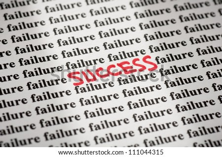 Success in failure