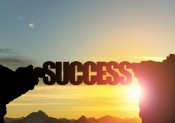Success word as concept