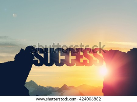 Success word as concept #424006882