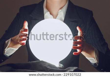successful person, isolated on beige background #229107022