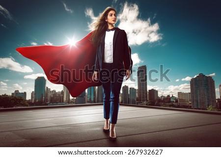 Successful Super Woman