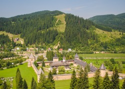 Sucevita Monastery, one of the most famous Romanian Orthodox monasteries in Bucovina