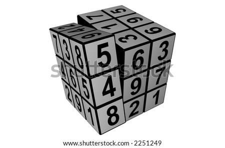 Sudoku Stock foto ©