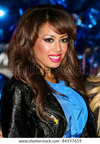 Sugababe Jade Ewen celebrating the launch of BBC Children in Need POP Goes the Musical, at Kensington Roof Gardens, west London. 31/08/2011 Picture by: Alexandra Glen / Featureflash