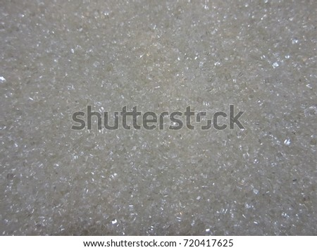 Sugar. Background granulated sugar