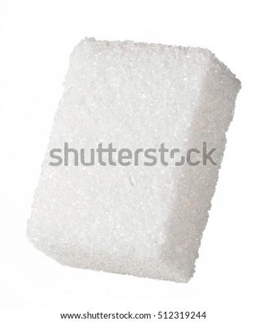 Sugar cube isolated #512319244