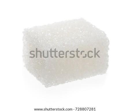 Sugar Cube Isolated #728807281