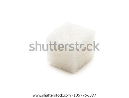 Sugar Cube on white background #1057756397
