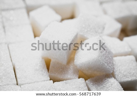 sugar cubes abstract