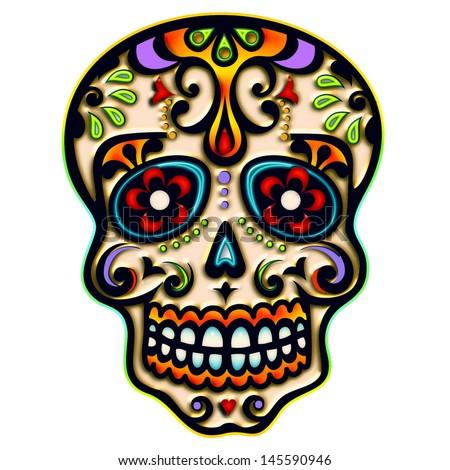 Sugar Skull - Mexico - dia de los muertos - day of dead