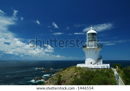 Sugarloaf Point Lighthouse, Seal Rocks, NSW, Australia
