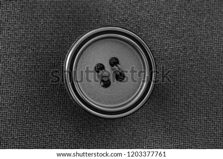 suit button and button hole