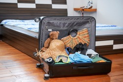 Suitacase with family belongings
