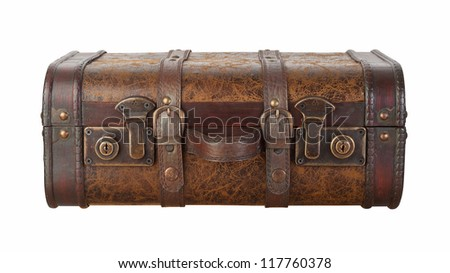 Suitcase Latches Isolated with clipping path on a white background