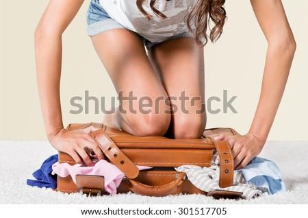 Suitcase, Luggage, Packing.