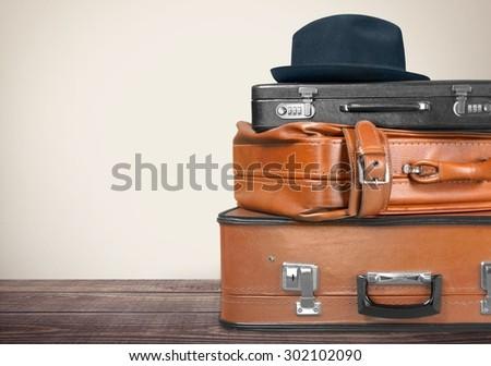 Suitcase, Luggage, Retro Revival.