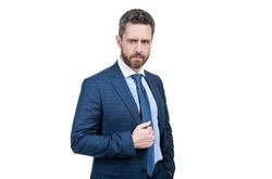 Suiting trend is anything but basic. Director wear classic navy suit. Mens fashion trend. Trendy menswear. Formal style. Formalwear. Classy wardrobe. Designer apparel.