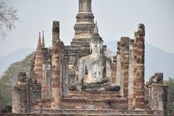Sukhothai  Ancient city Buddhism Thailand Culture