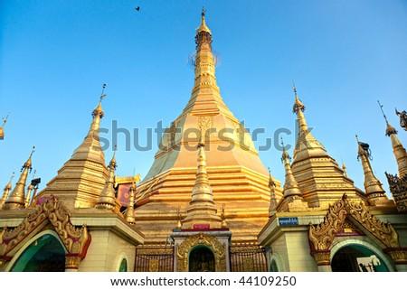Sule Pagoda, Yangon, Myanmar.