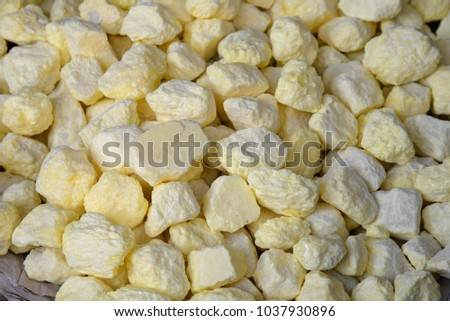 Sulfur, a chemical element #1037930896