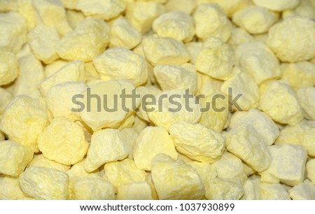 Sulfur, a chemical element #1037930899