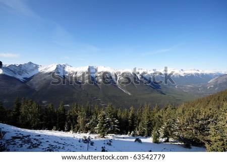 Sulphur Mountain Popular tourist destination Banff National Park, Alberta, Canada