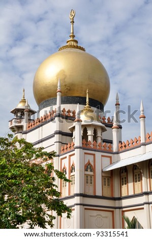 Sultan mosque in Singapore