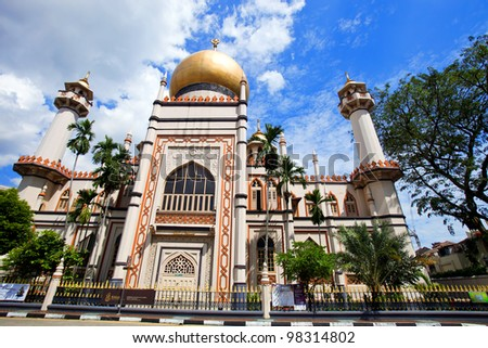 Sultan Mosque Singapore Picture on Sultan Mosque In Singapore Stock Photo 98314802   Shutterstock
