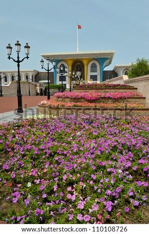 Sultan Qaboos bin Said Palace in Muscat