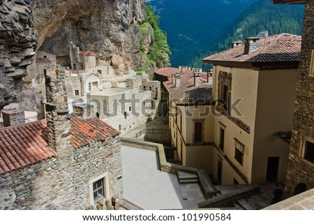 Sumela monastery in eastern turkey