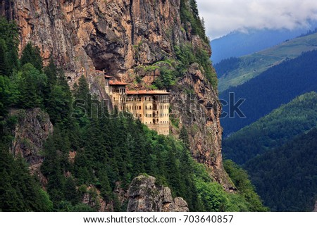 sumela monastery one of the...