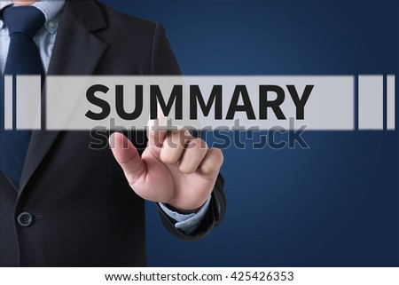 SUMMARY  Businessman hands touching on virtual screen and blurred city background #425426353