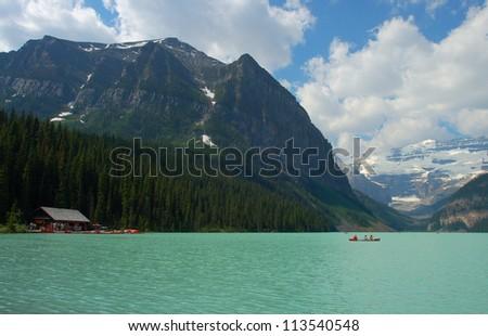 Summer at Lake Louise, Banff National Park, Alberta, Canada
