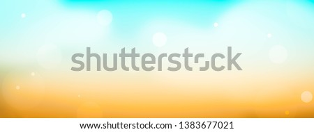 Summer background sky. Nature blue wallpaper