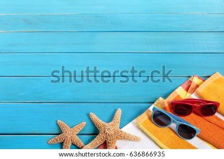 Summer beach background #636866935