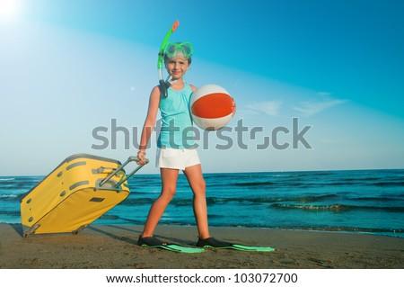 Summer beach, summer holiday - travel destination, beach resort