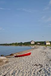 Summer beach Tarpaulin Cove Naushon Island