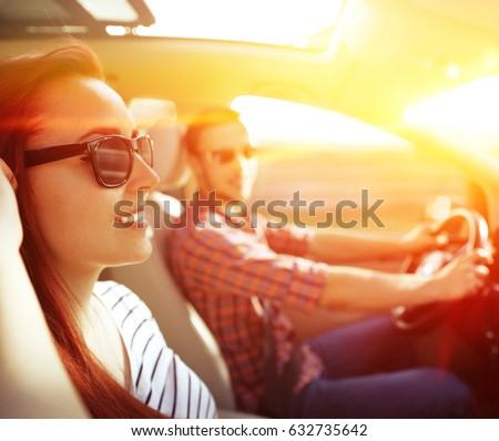 Summer car trip  #632735642
