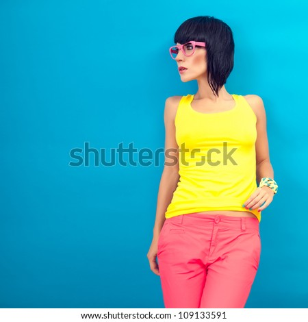 Summer fashion Girl