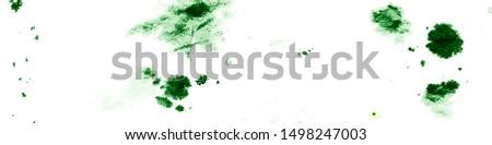 Summer Fruit Leaves. Green Marine Flora. Tropical Flora Texture. Tropical Marine Flora. Summer Watercolor Illustration. Artistic Underwater Plants.