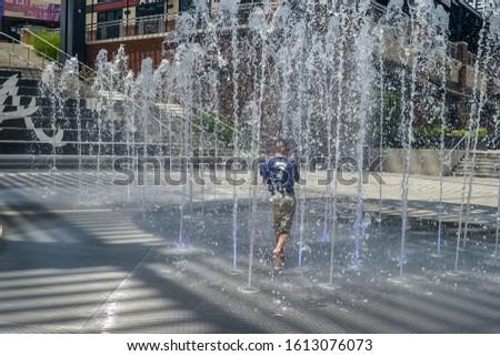 Summer Fun Boys Waterpark Splash Pad