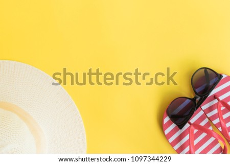 c0dd17fc68246d Free photos Summer beach objects horizontal border