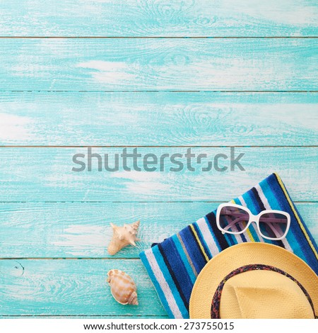 Summer Holidays in Beach Seashore. Summer drinks. Summer rest