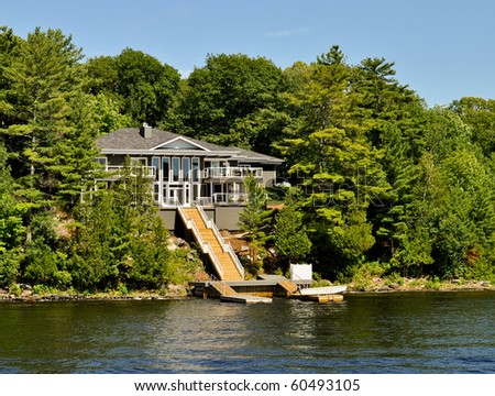Summer home on water
