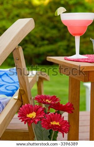 summer home scene