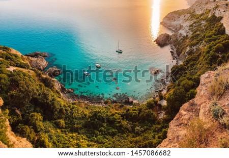 Summer in Crimea, Russia, Black Sea  Stock foto ©
