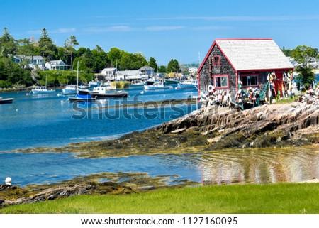 Summer in Maine - Harpswell, Maine  #1127160095