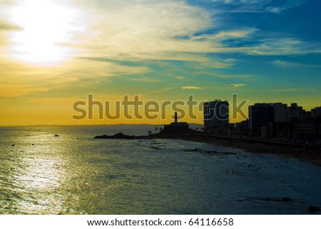 Summer in Salvador - Bahia, Brazil .