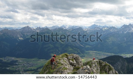 Summer Mountains - stock photo