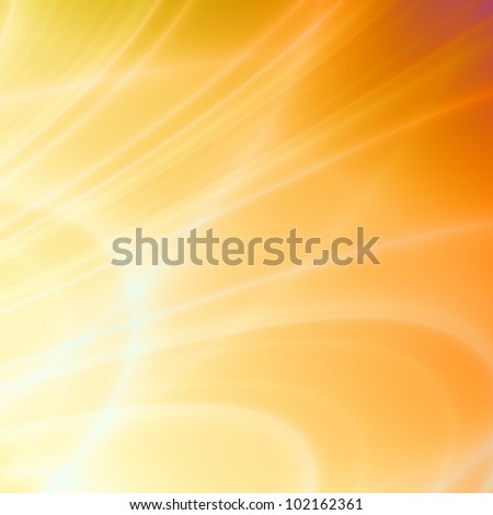 Summer orange abstract background